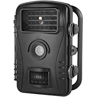 """Fotocamera da caccia,Aoleca 8MP 720P HD Fototrappola Macchine fotografiche da caccia Ampio angolo di visione 60°e 2.4"""" LCD Impermeabile fotocamera con 26 pc  LED IR a basso bagliore Telecamera digitale, Visione notturna infrarossi fino a 50ft"""