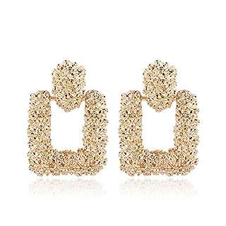 KEKEDA 2018 Trend Fashion Ohrringe Frauen Retro Metall Ohrringe geometrische groß Anhänger Ohrringe