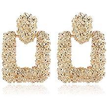 dfd8a33c03c1 Pendientes colgantes grandes geométricos de mujer