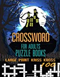 Crossword for Adults: Puzzle Books Large Print Kriss Kross