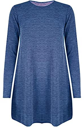Oops Outlet Damen Long Sleeve Navy Small