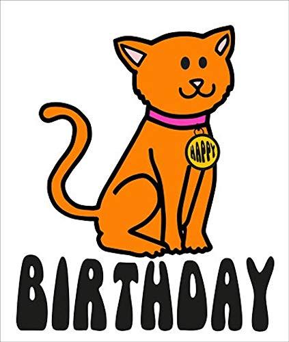 Ginger Tom Geburtstagskarte, Motiv: Katze - Ginger Tom