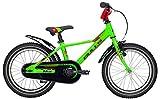 Kinder Fahrrad 16 Zoll grün - Bulls Tokee Lite Jungen Bike - Rücktrittbremse, Kettenschutz