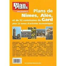 Guide Plan Plans Gard-Nimes Ales Bagnols Sur Ceze-54 Plans des Principales Communes du Gard + 23 Zae