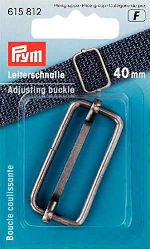 Prym Anpassung Schnalle, Metall, Antik Silber, 40mm
