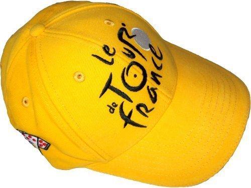 Casquette Tour de France Cyclisme - Collection officielle - Velo - Maillot Jaune - Taille réglable adulte et ado