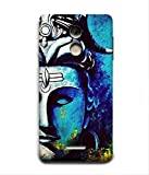 For Coolpad Note 5-Livingfill- lord shiva paintings canvas Printed Designer Slim Light Weight Cover Case For Coolpad Note 5(A Beautiful One of the Best Design with a Classic Theme & A Stylish, Trendy and Premium Appeal/Quality) (Red & Green & Black & Yellow & Other)