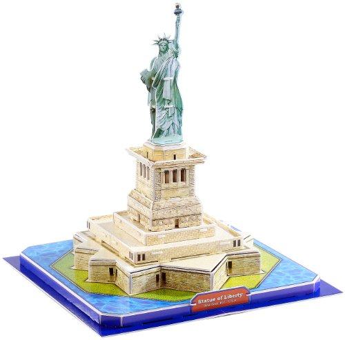 Preisvergleich Produktbild Playtastic Kinder 3D Puzzle Spiel: 3D-Puzzle Freiheitsstatue