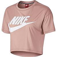 Nike Essential Cropped Haut à Manches Courtes Femme