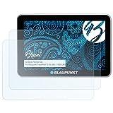 Bruni Schutzfolie für Blaupunkt TravelPilot 73 EU LMU/74 EU LMU (2015) Folie - 2 x glasklare Displayschutzfolie