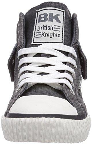 British Knights  Roco, Baskets hautes mixte adulte Noir - Schwarz (Black 02)