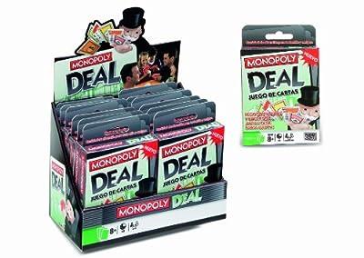 Hasbro 640190 - M.B. Juegos Cartas Monopoly por Hasbro