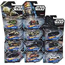 Hot Wheels Star Wars Rogue One Character Cars  in 1:64   11 ´ er Set  DXN83-999D Autos