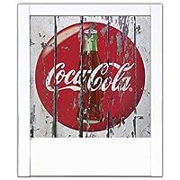lámpara blanca Coca Cola Vintage
