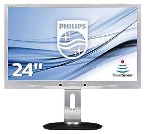 "Philips Brilliance 241P4QPYES Ecran PC LED 24"" (61 cm) 1920 x 1080 6 ms DVI-D/VGA/DisplayPort"