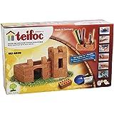 Teifoc TEF-4000 - Juego de construcción de castillo de piedra y escritorio modular (importado de Alemania)