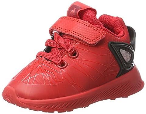 adidas Baby Jungen Spider-Man Rapidarun Sneaker, Rot (Scarlet/Scarlet/Core Black), 26 EU