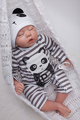 8a1e2c23ed OUBL 20pulgadas 50 cm Bebe Reborn Muñeca Niño Realista Baby Doll Boy Silicona  Vinilo Baratas Dormir