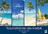 Traumstrände der Karibik (Wandkalender 2019 DIN A2 quer): Karibik: Sehnsüchte in Türkis und Blau (Monatskalender, 14 Seiten ) (CALVENDO Orte)