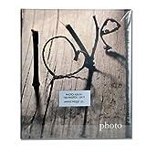 Mascagni S430Album Photo 100photos 13x 19cm Cadre photo avec cœurs Inscription Love Scritta Love