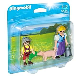 PLAYMOBIL Duo Pack – Campesina y niño, Figuras (5514)