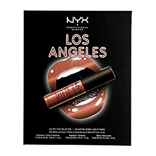 NYX Professionelle Make-up Wanderlust Lippe, Eye & Face Palette – Los Angeles