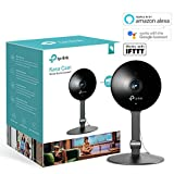 Kasa Smart Indoor Security Camera by TP-Link, Works with Alexa (Echo Spot, Echo Show and Fire TV), Google Home/Chromecast and IFTTT, 1080p HD, 2-way Audio with Night Vision for Baby/Elder/Pet