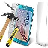 ( Pack Of 1 ) Samsung Galaxy S7 Gehärtetem Glas Crystal Clear LCD Display-Schutzpakete mit Poliertuch & Application-Karte