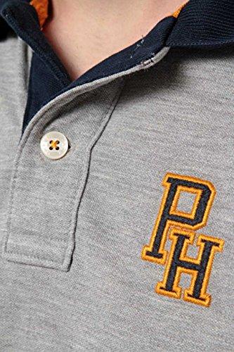 Phazz Brand Munich Herren Shirt Poloshirt COSY, Farbe: Creme Grau