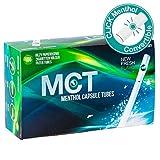 MCT Menthol Capsule Tubes Clickhülsen mit Menthol 1 Box (100 Hülsen)
