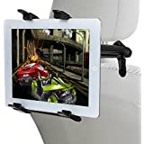 Lictin Tablet Halterung, Auto Rücksitz Kopfstütze Halterung Einstellbare Halter für Apple iPad 2/3/4/Mini/Air, Samsung Galaxy Tab, Google Nexus und andere 6 – 11 Zoll Tablets