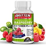 ULTRA Strong Raspberry Ketone | Highest Rated 5 STAR! | FREE DIET PLAN EBOOK WITH EVERY ORDER | For Men & Women | Easy To Swallow Capsules | 100% MONEY BACK GUARANTEE | 1 MONTH SUPPLY