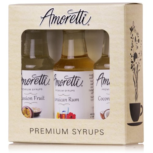 Amoretti Premium Syrups Tropical 3 Pack (50ml)