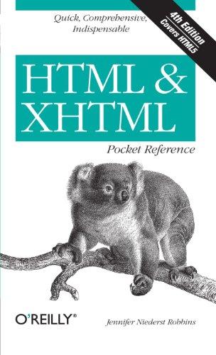 HTML & XHTML Pocket Reference (Pocket Reference (O'Reilly))
