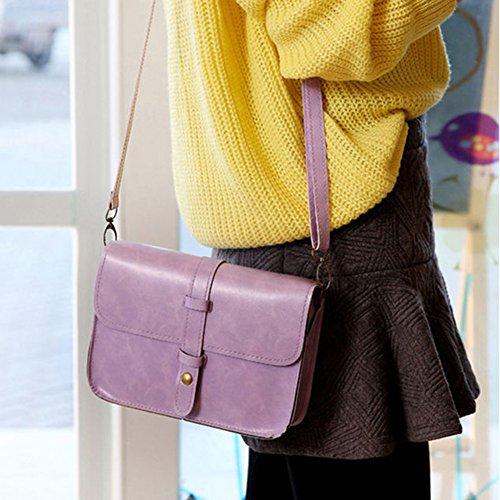 Goodtimes28, Borsa a tracolla donna Burgundy Purple