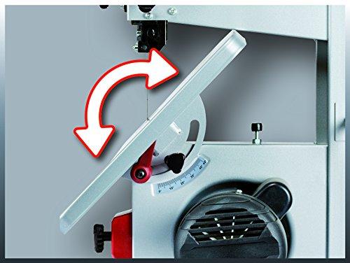 Einhell Bandsäge TC-SB 200/1 (250 W, max. Schnitthöhe 80 mm, Durchmesser Absauganschluss 36 mm, Parallelanschlag, Schiebestock) - 9