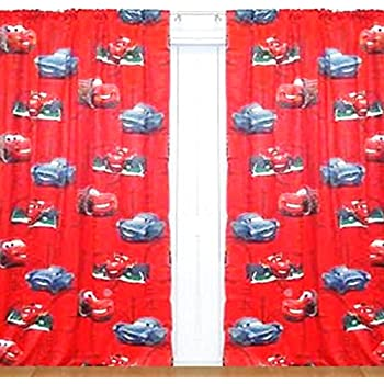 Disney Pixar Cruising Cars Childrens Bedroom Polyester Pair Of Blackout  Curtains 140 X 250cm Boys Machine Washable
