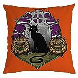 Precioul Halloween Baumwolle Leinen Sofa Car Home Taille Kissenbezug Dekokissen Fall Kissen Sofakissen Sofa Kissen und Dekokissen/Deko Kissen Halloween