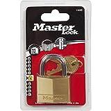 MASTER LOCK - 140EURD - Messing Vorhängeschloss 40mm