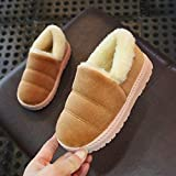 Longra 2019 New Kids Shoes,Baby Boys Girls Soft Sole Warm Fleece Booties Slippers Super Cute Pram Shoes for 1-12Years