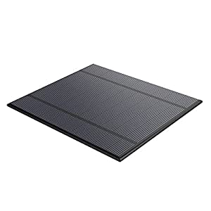 ALLPOWERS 5 V 2,5 W 5 V/500 mAh Mini verkapselter Solar Zelle Epoxy Solar Panels Kit für Akku Power LED 130 x 150 mm.