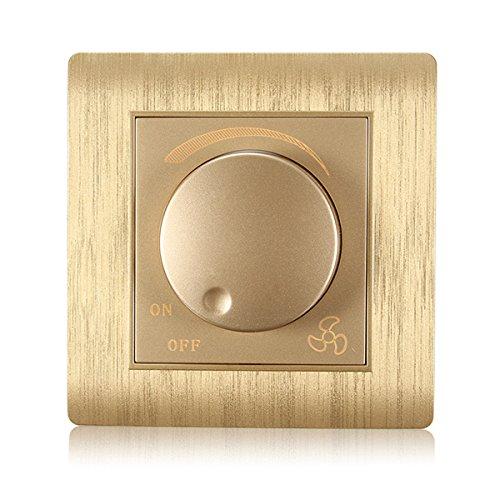 DyNamic Kempinski C31-291D Wall Switch Light Dimmer Panel Plate Ac 110~250V (Light Switch Wall Plate)