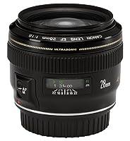 Canon 28mm f/1.8 USM - Objetivo para Canon (distancia focal fija 28mm, a...