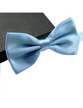 GSCH uomo Fashion Solid Color Bowties festa di nozze Pre-legato Bow tie