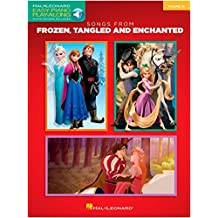Easy Piano Play-Along Volume 32: Songs From Frozen, Tangled And Enchanted (Book/Online Audio). For Pianoforte facile