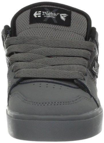 Etnies KIDS FSAS X Twitch Rockfield,-Schuhe Sport Jungen Gris (Grey/Black 030)