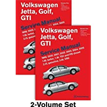 (VOLKSWAGEN JETTA, GOLF, GTI (A4) SERVICE MANUAL: 1999, 2000, 2001, 2002, 2003, 2004, 2005: 1.8L TURBO, 1.9L TDI DIESEL, PD DIESEL, 2.0L GASOLINE, 2.8L) BY Bentley Publishers(Author)Hardcover on (06 , 2011)