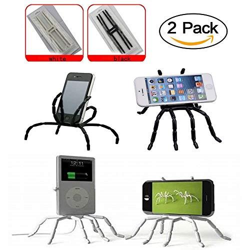 Universal Phone KFZ Halterung Multifunktions Tragbare Spider Flexible Griff Halterung für Smartphones und Tablets, für iPod iPhone X 6/6S/7/7s/8/Samsung Galaxy Android MP4guang-t (2) (Spider Baby)