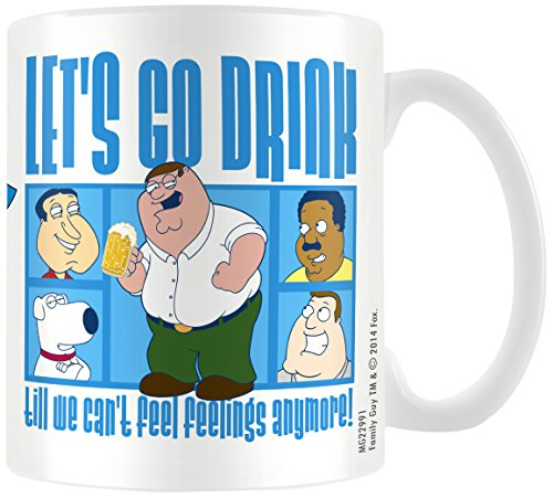 family-guy-lets-go-drink-taza-de-ceramica-multi-color