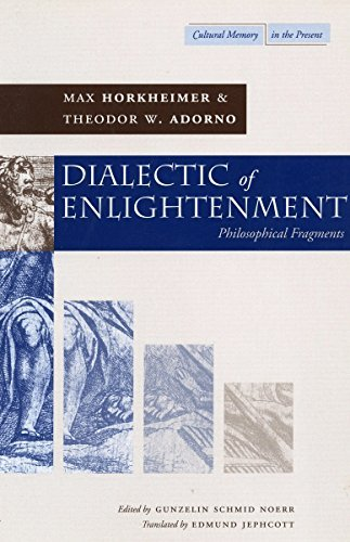 Dialectic of Enlightenment (Cultural Memory in the Present) by Max Horkheimer (2002-03-27)